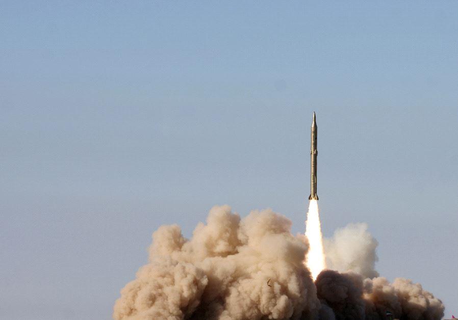 Iran rocket launch