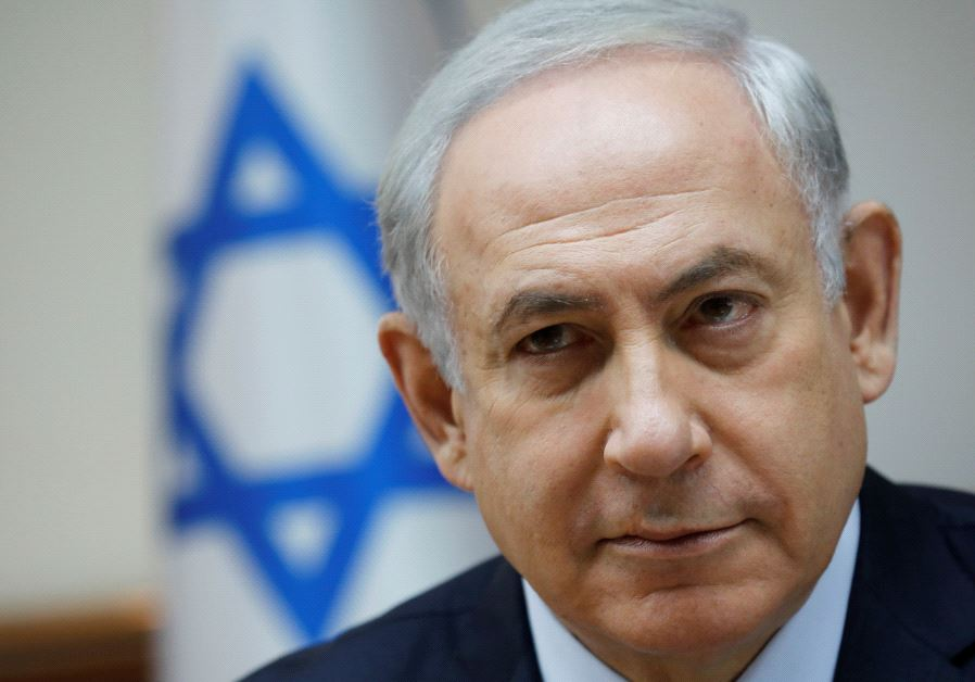 Israeli Prime Minister Benjamin Netanyahu attends the weekly cabinet meeting in Jerusalem July 30, 2