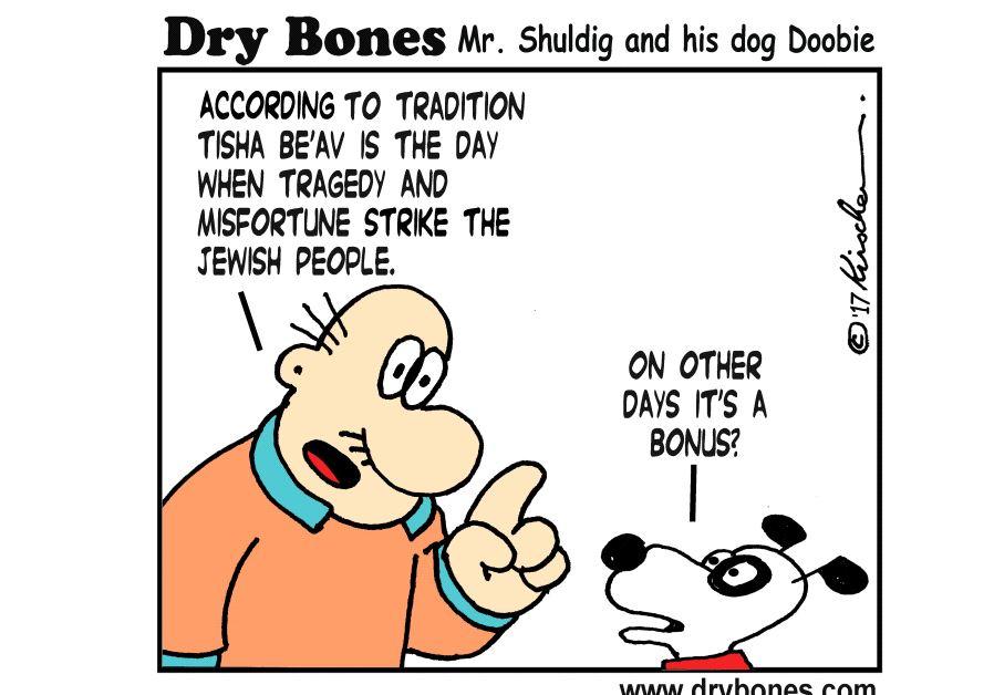 Dry Bones August 1