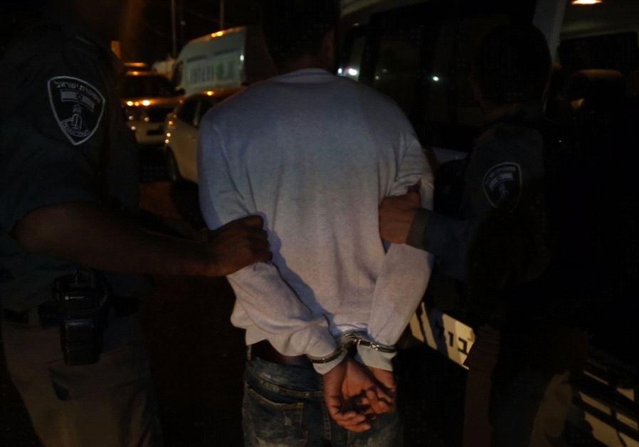 Police operations in Arab neighborhoods in Jerusalem. 03/08/2017