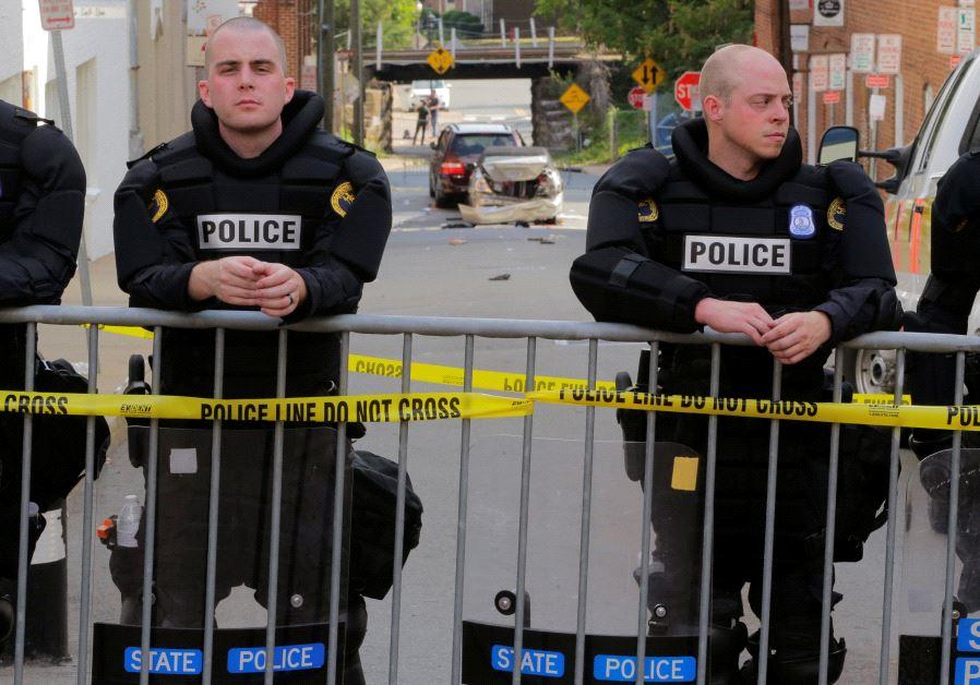 Virginia State Police in Charlottesville