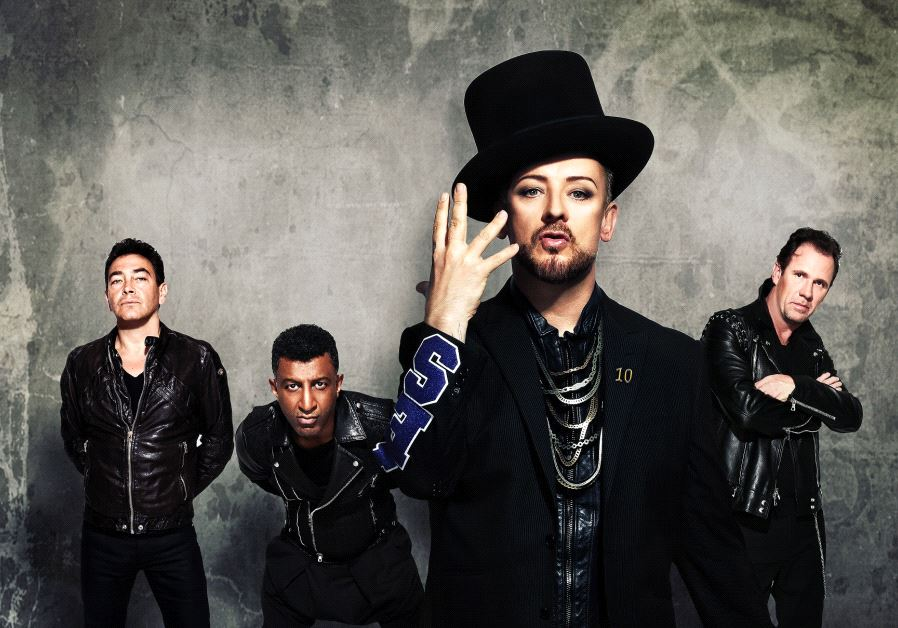 Pop legend Boy George and his band are expected to arrive for their Israel concert in November 2017.