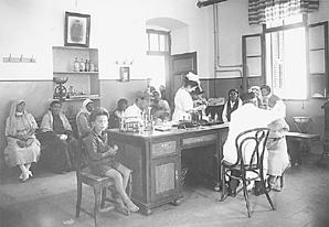 shaare zedek circa 1900