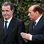 Berlusconi and Prodi