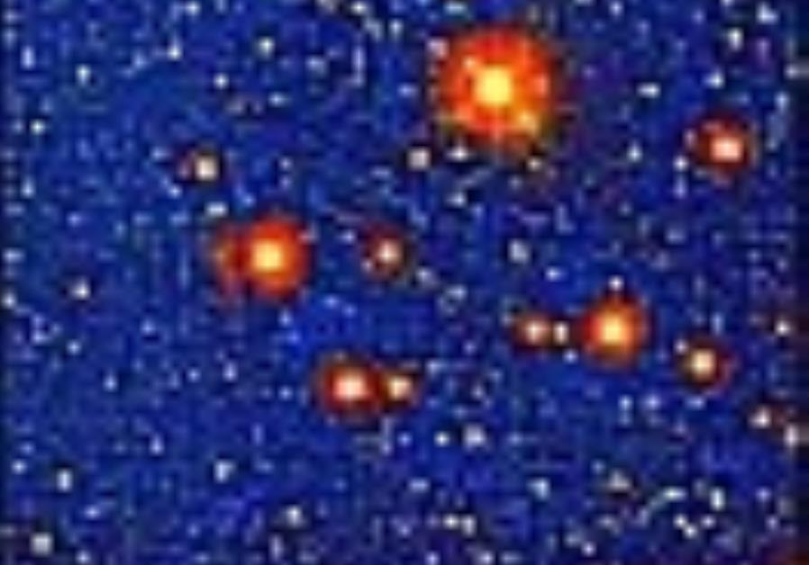TAU astronomers find five-fold quasar
