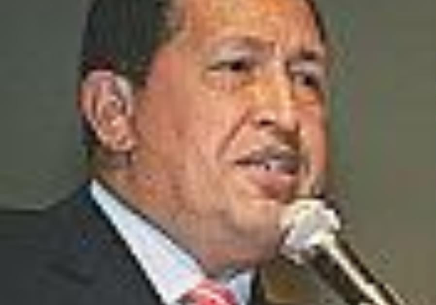 Chavez visits Syria, pledges solidarity against US