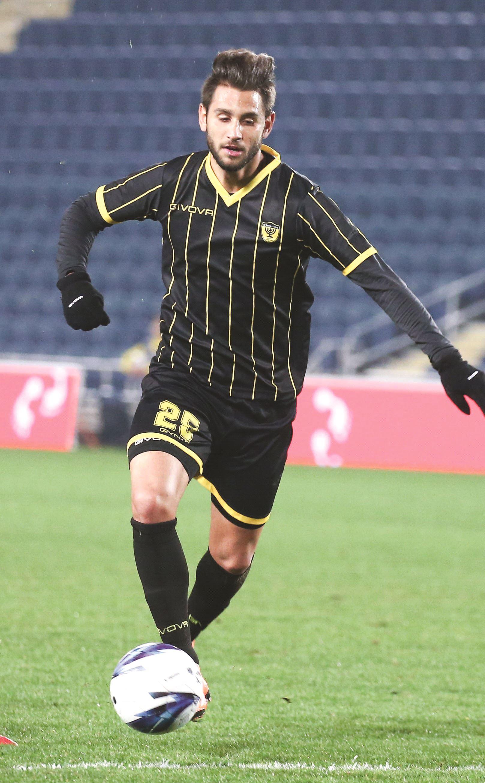BEITAR JERUSALEM striker Gaetan Varenne (Danny Maron)