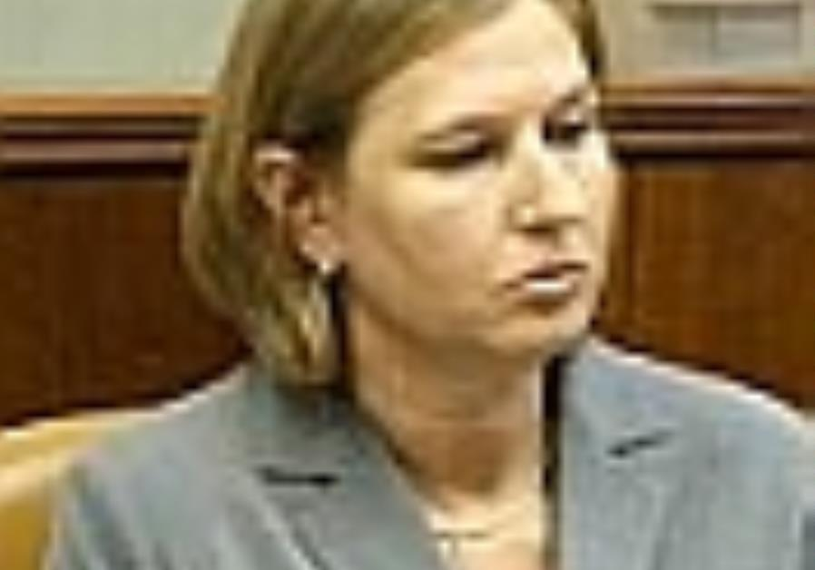 Grapevine: Livni's Plea to the EU