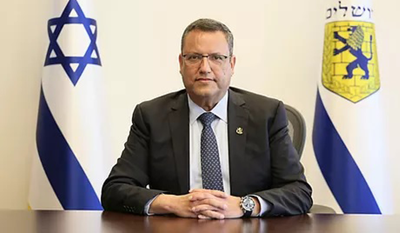 Moshe Lion Mayor of Jerusalem (photo credit: Jerusalem Municipality)