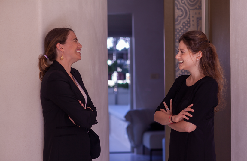 The Nopo - founders Kelly Roth and Shanny Harel (photo credit: Dan Bronfeld)