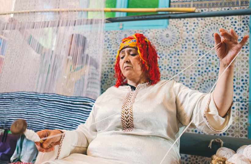 The Nopo- IDYR Design Moroccan Artisan weaving (photo credit: Youssef Aboudrar)