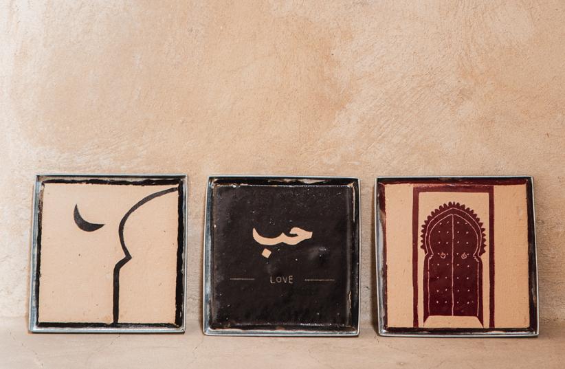 The Nopo - Handmade Moroccan modern Zellige tiles by Zelart (photo credit: Leonie Zaytoune)