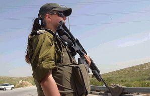female soldier girl lookin tough 298 aj