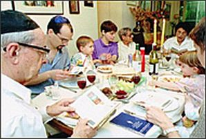 Where will you be for Seder?
