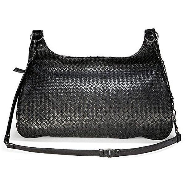 ff8aa1bc501f 7. Bottega Veneta Woven Black Leather Extra-Large Shoulder Bag  180180/VCCE/1000, $3,912.99, Amazon
