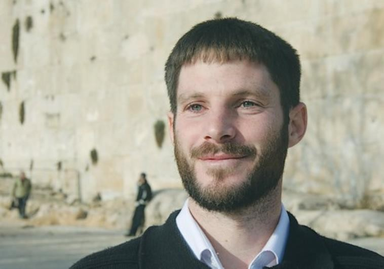 Bezalel Smotrich. Credit: Courtesy/Regavim
