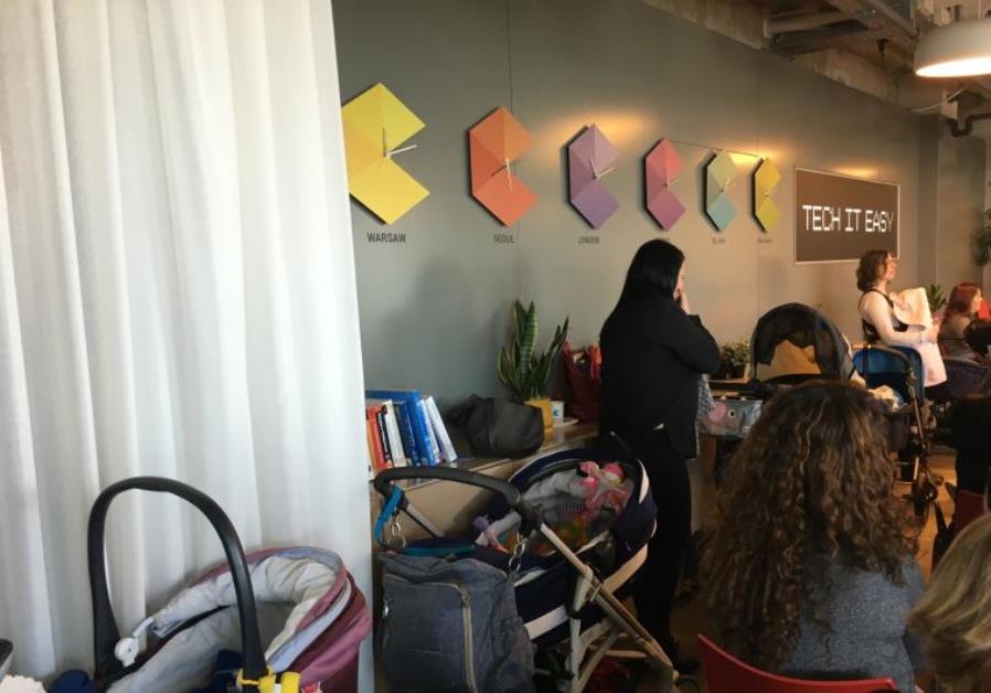 google office israel. israeli tech google office israel